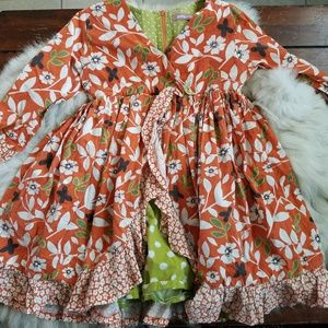 Jelly the pug floral fall dress 7